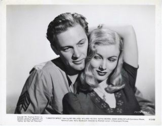 """"""" I Wanted Wings """" - Photo - Veronica Lake - William Holden"""