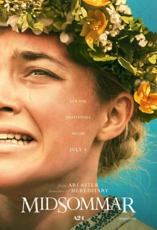 Midsommar A24 Poster 27x40 D/s Theatrical Poster