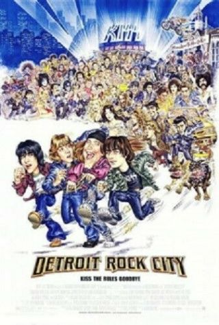 Detroit Rock City Rolled 27x40 Movie Poster 1999 Kiss Rock Band