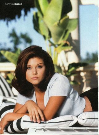 Tiffani Thiessen Picture Clipping 1 Page Beverley Hills 90210