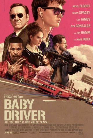 Baby Driver Great 27x40 Movie Poster Last One (th10)