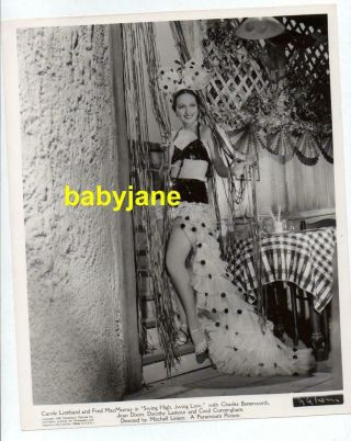 Dorothy Lamour 8x10 Photo Pinup In Showgirl Costume 1936 Swing High