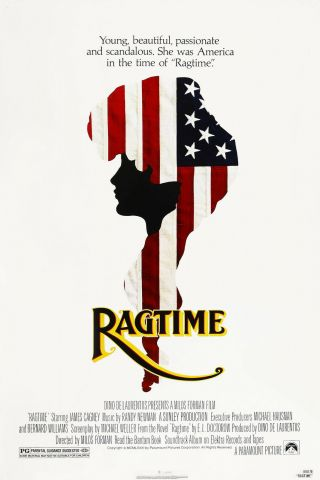 Ragtime (1981) Movie Poster - Rolled