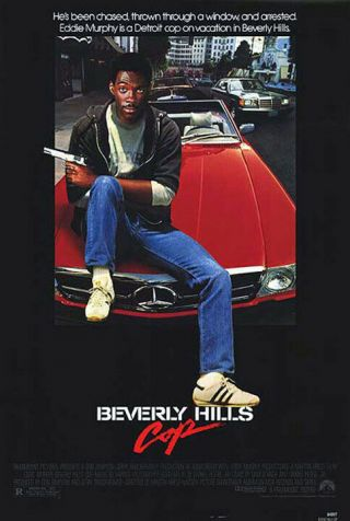 Beverly Hills Cop (1984) Movie Poster - Single - Sided - Rolled