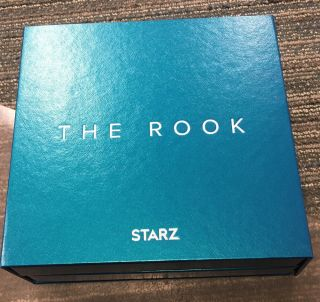 The Rook – 2019 Starz Promotional Press Package W/light Up Glass