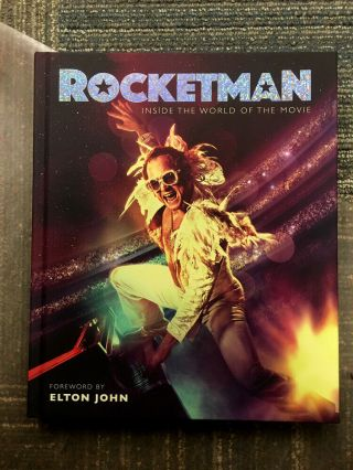 Rocketman – 2019 Promotional Production Photo Book,  Tote Bag,