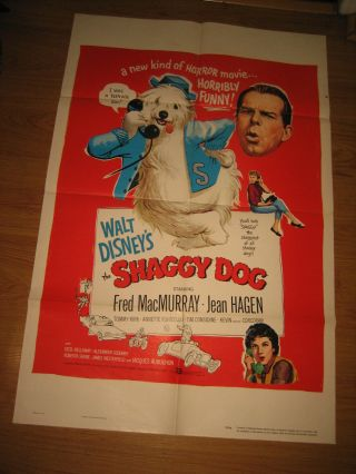 The Shaggy Dog 1sh Movie Poster