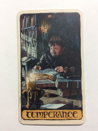 Temperance Game Of Thrones Tarot Card Nycc Exclusive Single Card Promotional