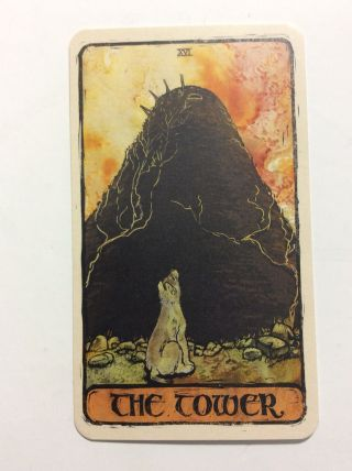 The Tower Game Of Thrones Tarot Card Nycc Exclusive Single Card Promotional