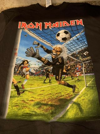 Iron Maiden Los Angeles Event Xl Shirt Legacy Of Beast La.  California Exclusive