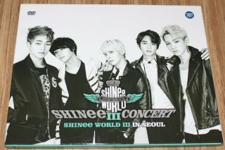 Shinee The 3rd Concert World Iii In Seoul Live 2 Dvd,  Photobook