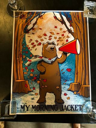My Morning Jacket Very 1st Year Roll Call Fan Club Poster 2011 2012 Mmj