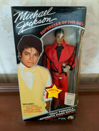 Vintage Michael Jackson Doll Thriller Outfit 1984