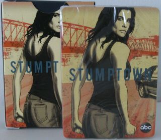 Stumptown Cobie Smulders Abc Official Promo Playing Cards Nib