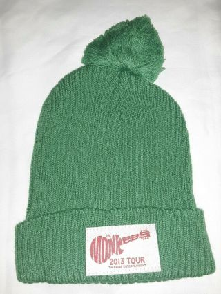 The Monkees 2013 Tour Michael Nesmith Unisex Wool Hat Cap Official