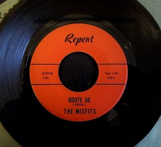 Rare 1960s Beat Cover Of Rolling Stones - Route 66 The Misfits - Rockabilly