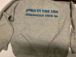 Bruce Springsteen Born In The Usa 1985 T - Shirt Pullover - Large