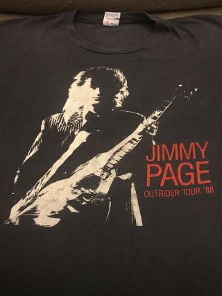 Jimmy Page Outrider Tour 88
