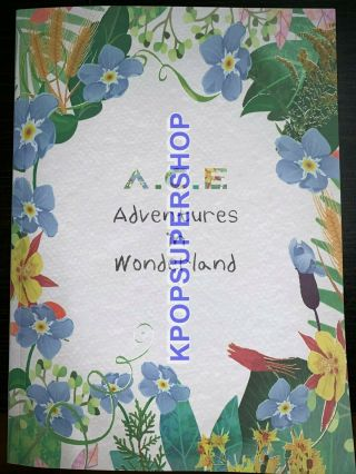 A.  C.  E Adventures In Wonderland Cd Rare Day Version Photocards 8