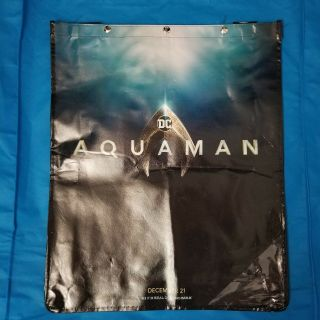 Sdcc 2018 Dc Aquaman Tote Bag / Backpack - Straps And Snaps