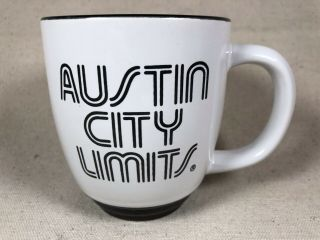 Austin City Limits Coffee Mug Pbs Music Show Texas