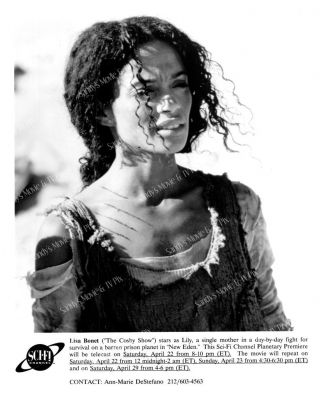 Lisa Bonet Fantastic Tv Photo Eden