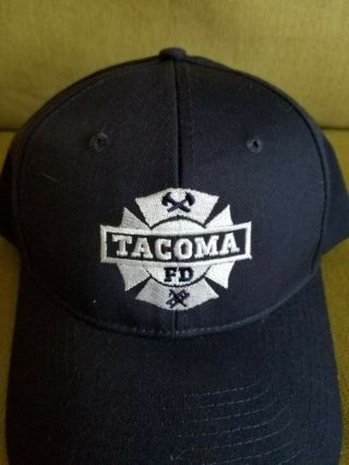 Tacoma Fd Fire Department Promotional Baseball Ball Cap Tru Tv Series