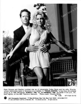 Heather Locklear,  Peter Strauss Tv Photo Texas Justice