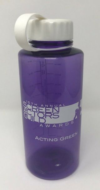 15th Annual Sceeen Actors Guild Awards Water Bottle Sag 32oz Union Crew Giveaway