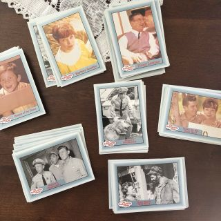 Andy Griffith Show Series 1 Trading Sports Cards Set 110 Cards In Clear Case
