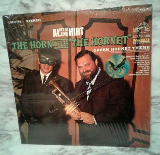 Vintage Al Hirt Meets The Green Hornet Lp Shrink Wrapped Stereo Record Tv Themes