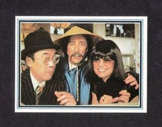 Peter Sellers Pink Panther Rare Tv 1978 Costa Rica Card
