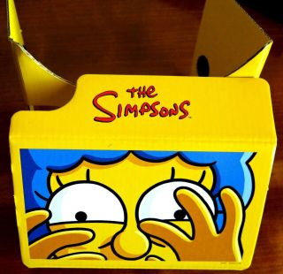 The Simpsons - Collectors Edition Virtual Reality (vr) Goggles