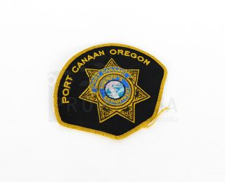 The Crossing Port Canaan Sheriffs Department Patch Prop Tv Series