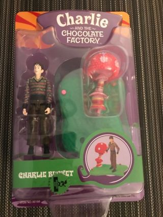Charlie & The Chocolate Factory Charlie Bucket Action Figure Willy Wonka