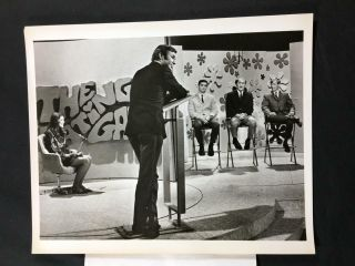 1969 Jim Lange The Dating Game Abc Tv Still Photo A143