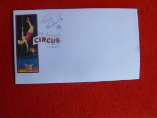 Ring Leader Tommy Hanlon Jr Signed Circus Cover