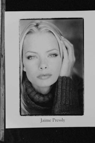 Jaime Pressly - 8x10 Headshot Photo With Resume - My Name Is Earl