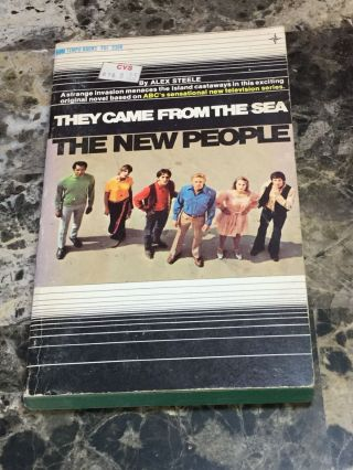 Vintage 1969 Abc Tv Series They Came From The Sea The People Pb Tempo Books
