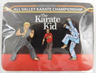 Loot Crate Pin Loot Pins Karate Kid Championship