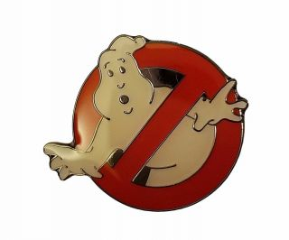"Ghostbusters No Ghost 1.  25 "" Metal Enamel Costume Pin"