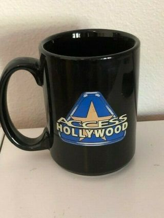 Access Hollywood Advertising Promotional Tv Show Mug / Cup