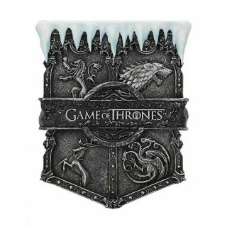 Game Of Thrones Official Hbo Merchandise - Ice Sigil Magnet