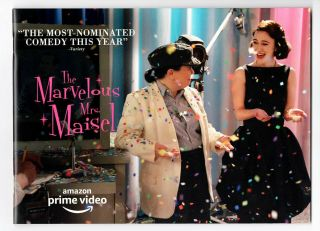 """"""" Marvelous Mrs.  Maisel """" - - Promo Booklet (24 Pages) - - Emmy Consideration - - Nmt"""