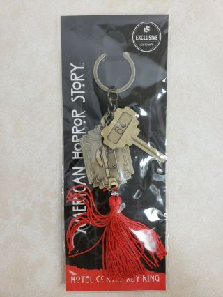 American Horror Story Hotel Cortez Key Ring Loot Crate