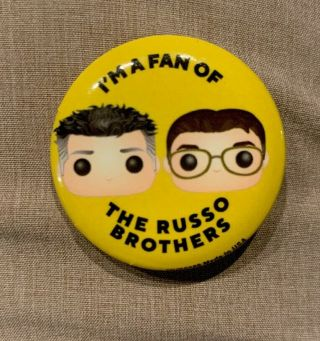 Russo Brothers Button Sdcc 2019 Avengers Endgame Hall H Exclusive