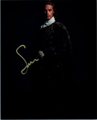 Sam Heughan Autographed 8x10 Photo Signed Picture Pic,