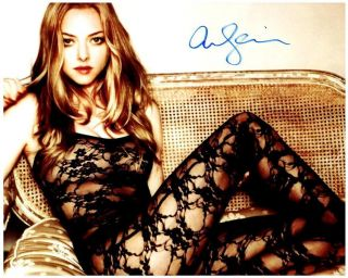 Amanda Seyfried Signed 8x10 Photo Autographed With