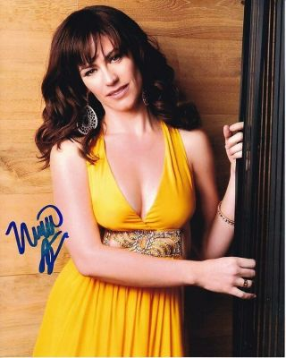 Maggie Siff Signed Autographed 8x10 Photograph