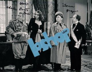 Rare Three Stooges Star Lorna Gray Signed Autograph Photo You Nazty Spy Curly 3